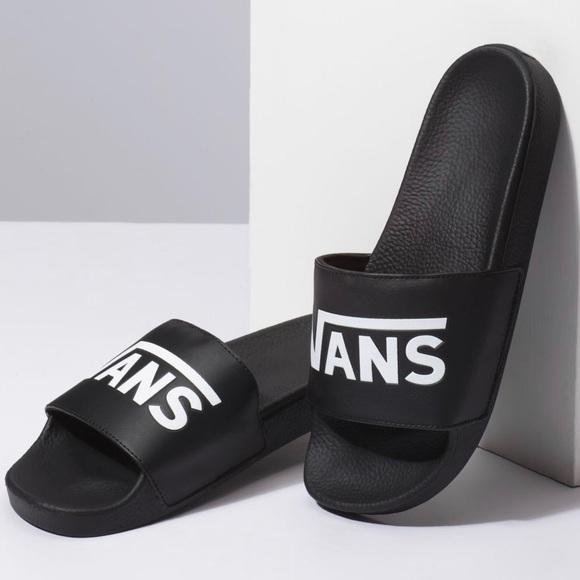 Vans Shoes | Slides Like New | Poshmark
